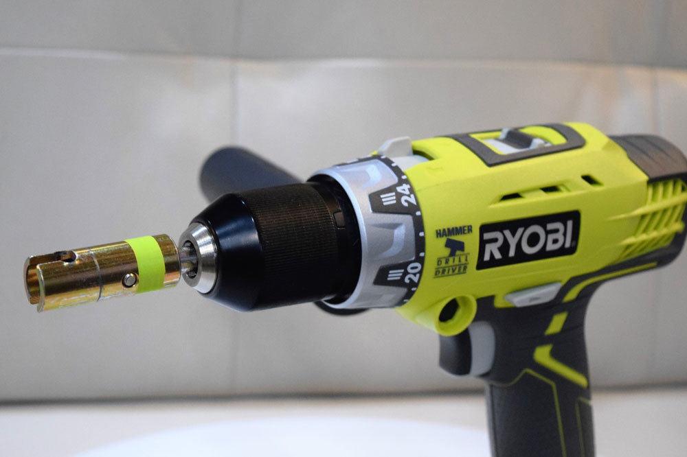 Crank Drill Bit + Hammer Drill