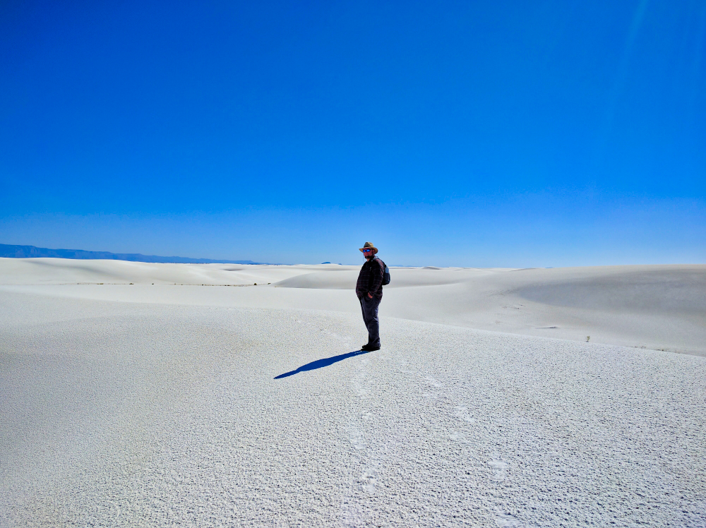 White Sands National Monument The Adventures Of Trail