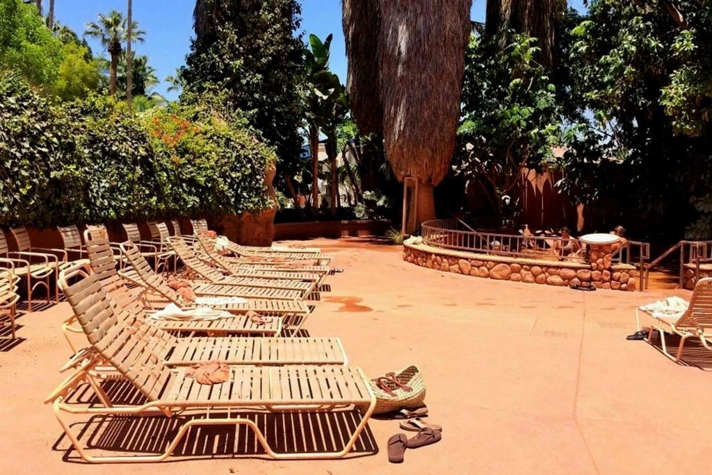 Club Mud Drying Area