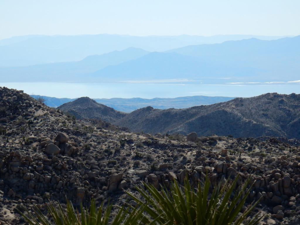 Salton Sea from Peak