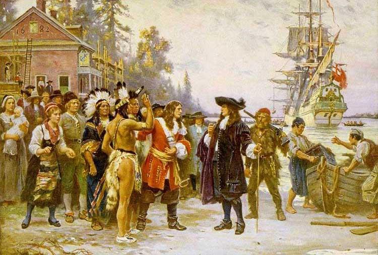 Landing of William Penn