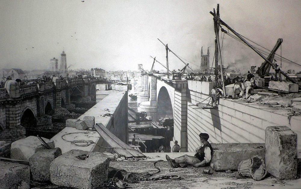 1830s London Bridge