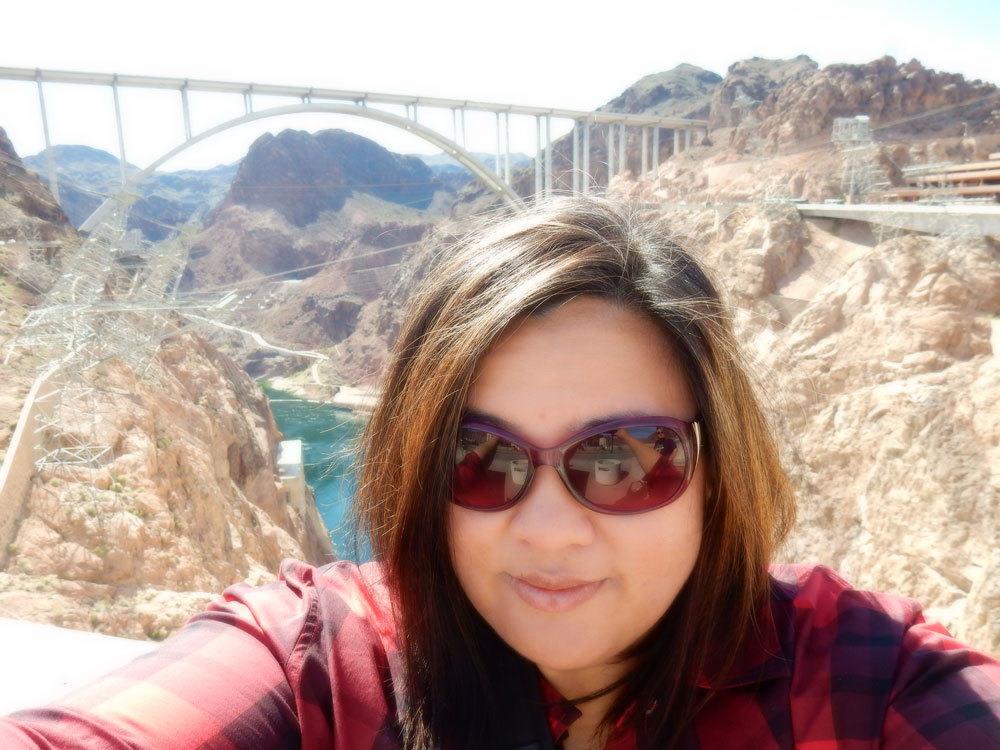 Obligatory Selfy at the Dam