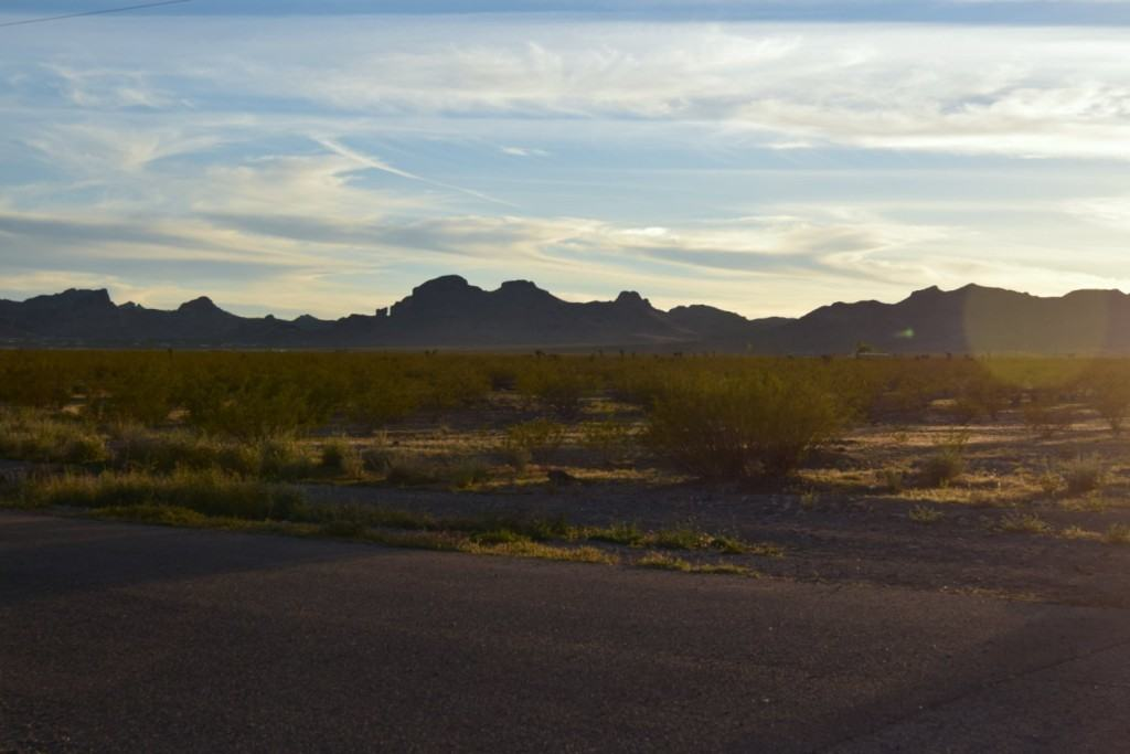 View from RV Park