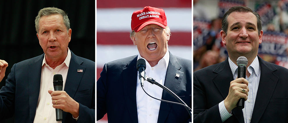Of these I'd take the one on the left, but Trump took Arizona handily.
