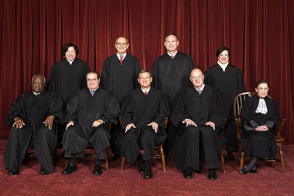 The honored justices of 2010.