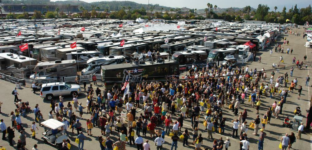 RV shows can be a good place to explore many different models and brands.