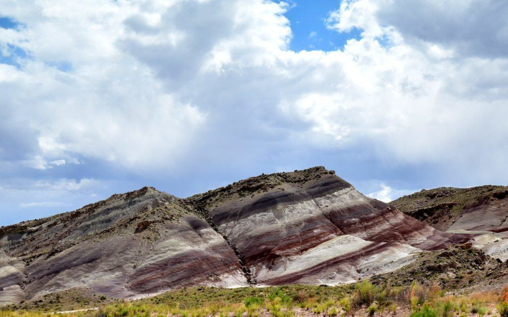 Candy Stripes on the Brushy Basin Formation