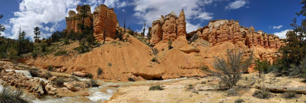 Water Canyon Spires