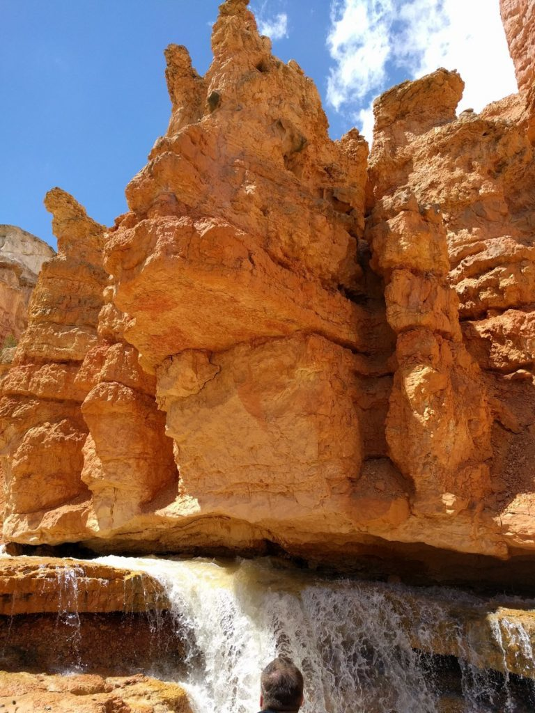 Water Canyon Water Fall and Hoodoos