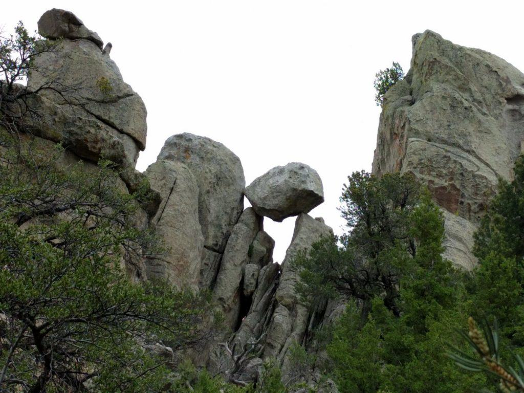 Balanced Rock. Stuck atop two joints