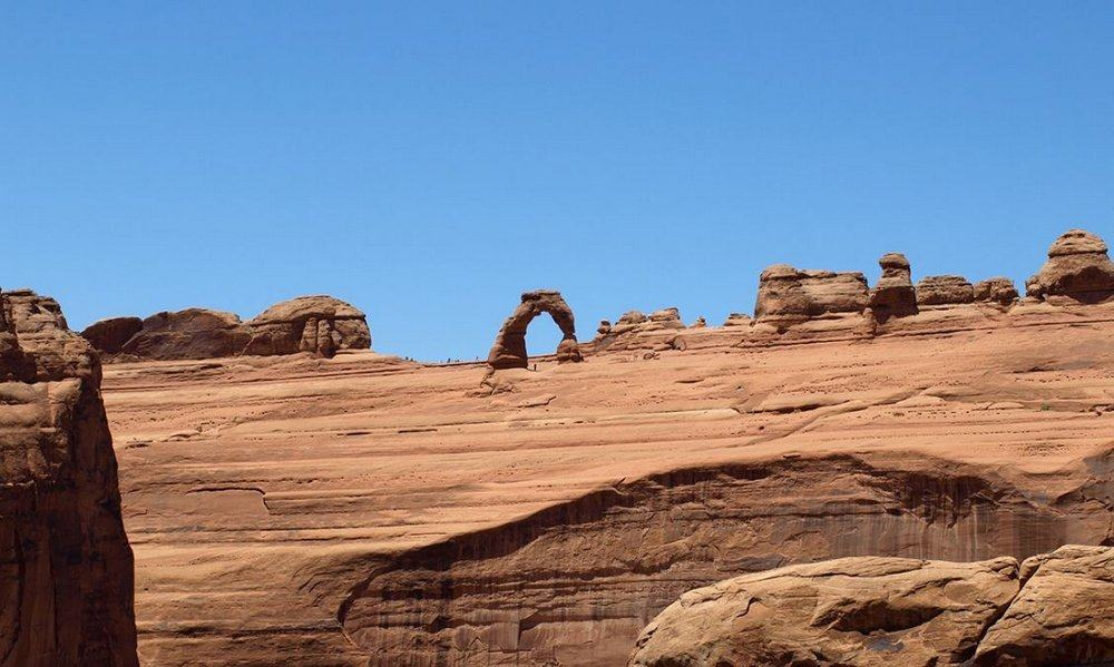 Delicate Arch from the Upper Viewpoint