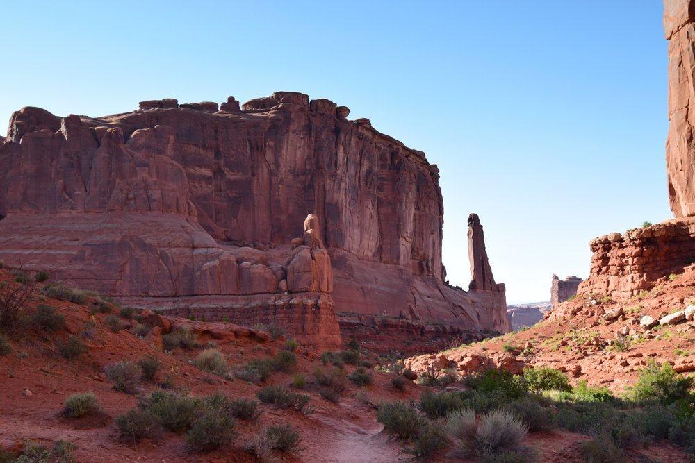 Tall cliffs of Park Avenue