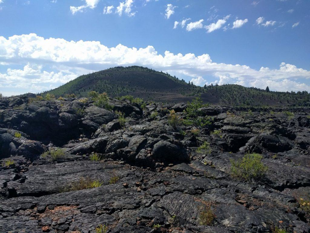 Broken Top is a giant cinder cone volcano roughly 2100 years old