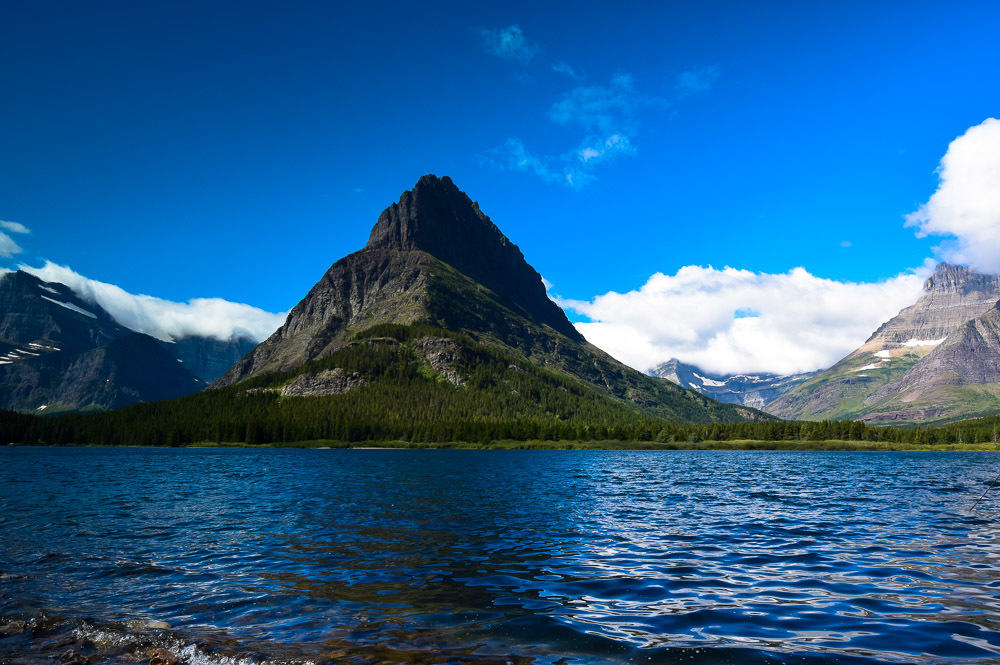 Glacier National park was chock full of picture perfect scenery.