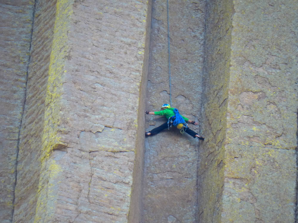 Devils Tower Climber