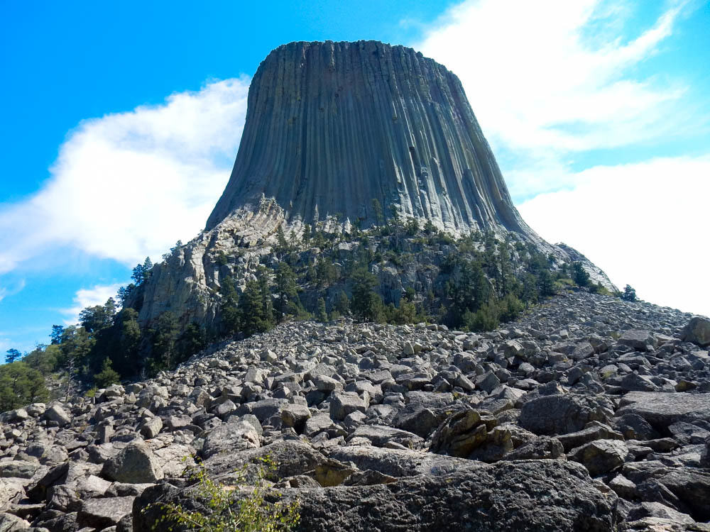 Devils Tower South Side - the classic view
