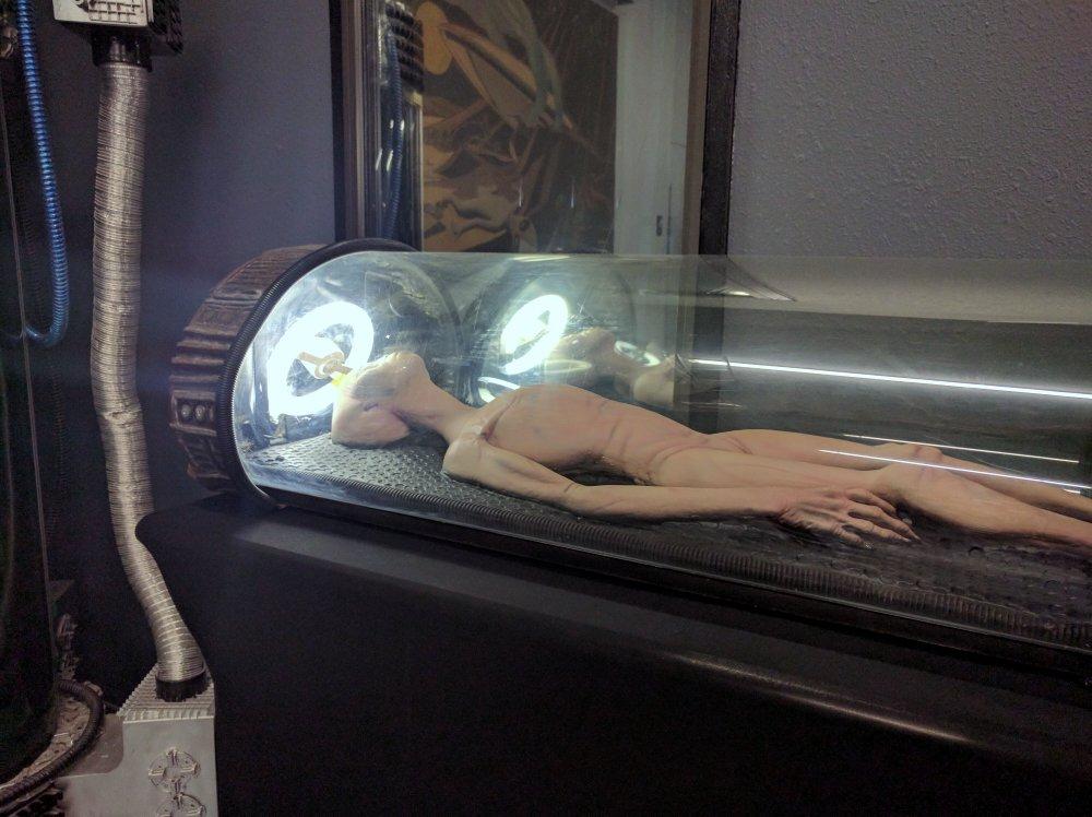 UFO & alien art work