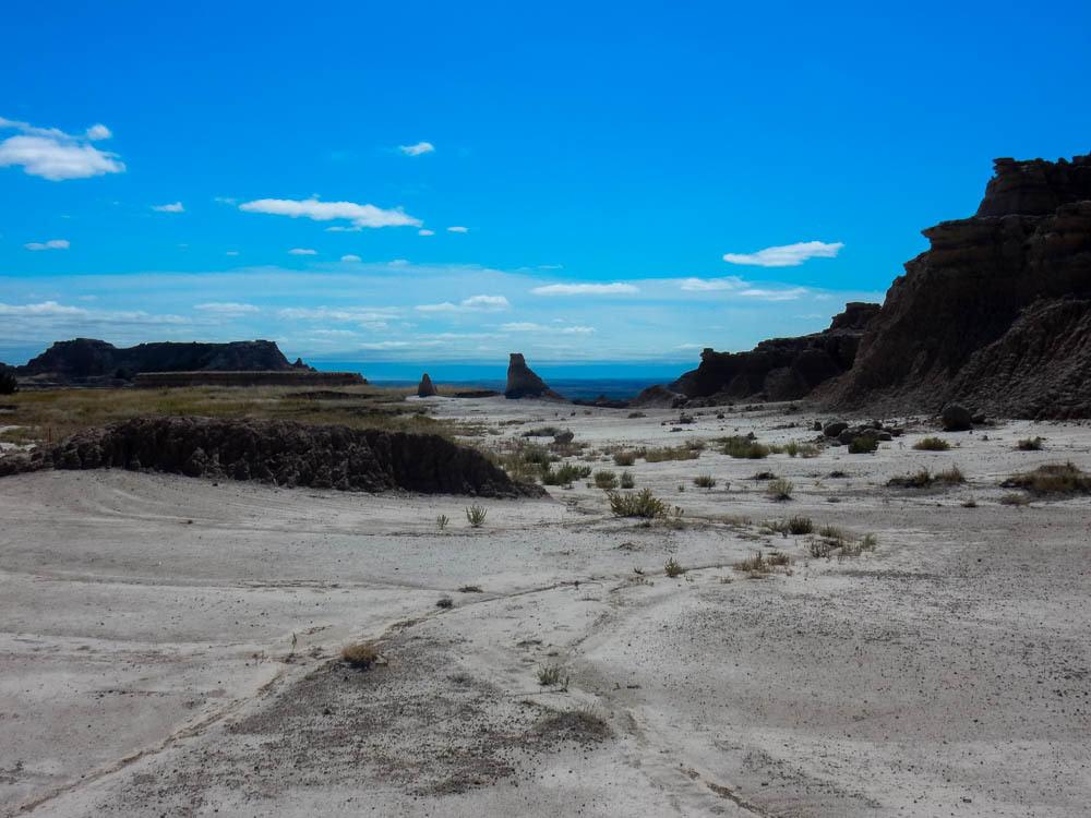 Badlands Hills and Rocks