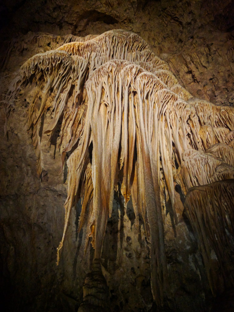 Carlsbad Caverns Draperies