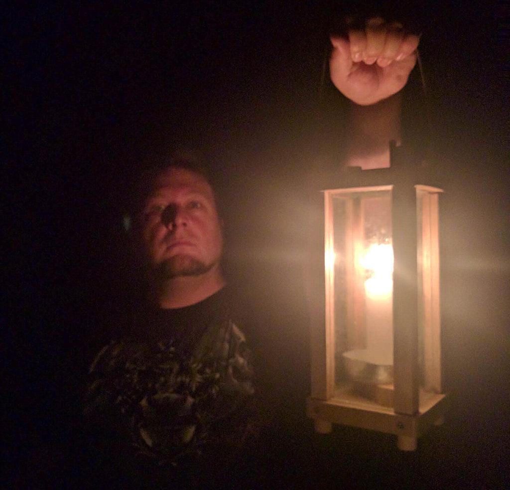 """""""I lift my lantern higher"""""""
