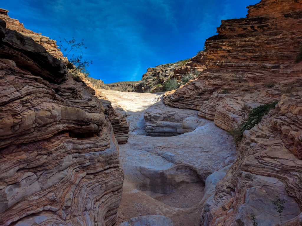 Imagine the amount of water needed to carve this tight slot canyon