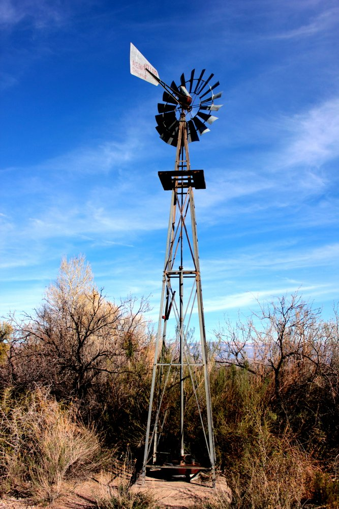 Sam Nail Ranch - the well still pumps water today