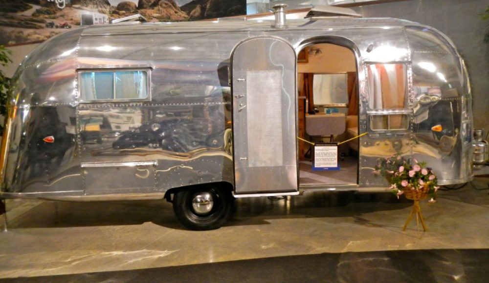 Some of the vintage Airstreams are prized for their incredible mirror polish. One in this condition can fetch a real premium price.