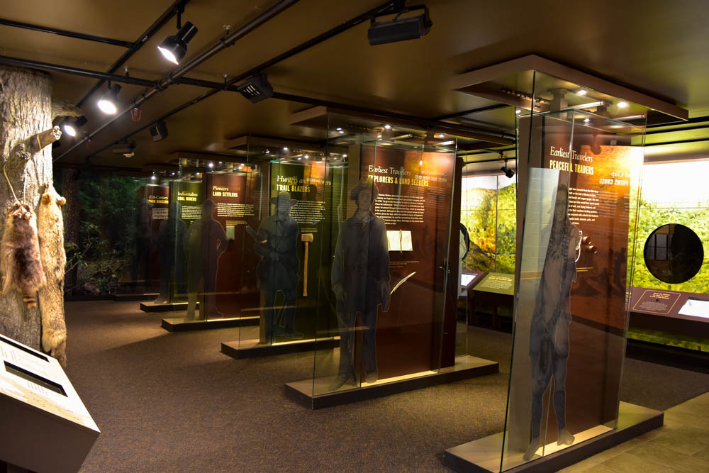 Inside The Visitor Center - Excellent exhibits and documentaries.
