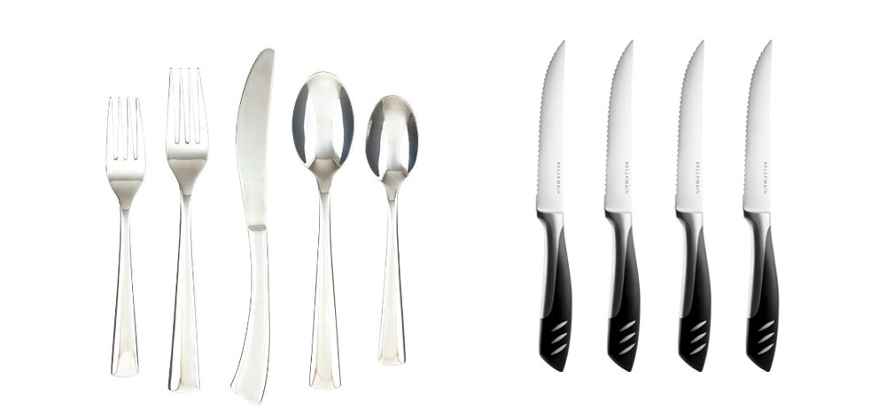 Silverware for 4 People