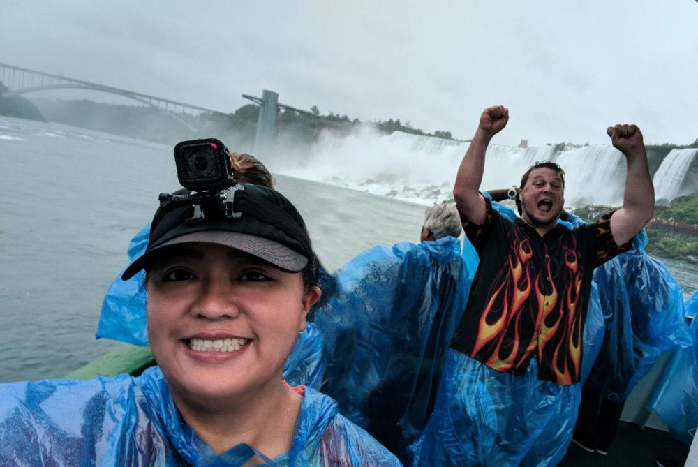 Us at Niagara Falls