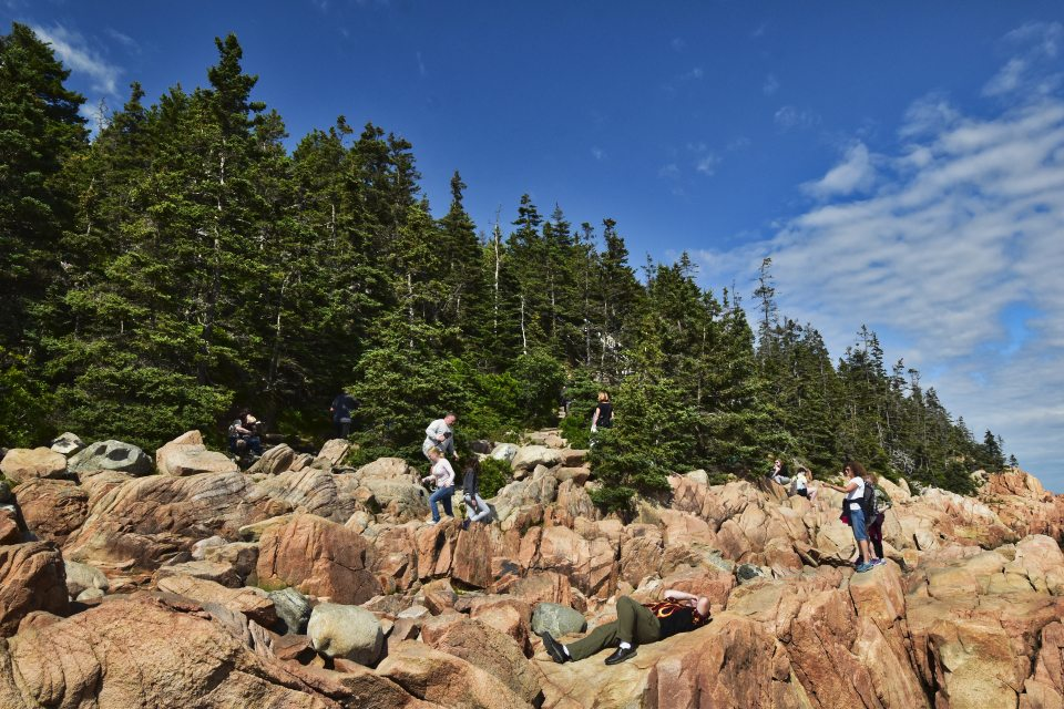 Bass Harbor Lighthouse - Crowds