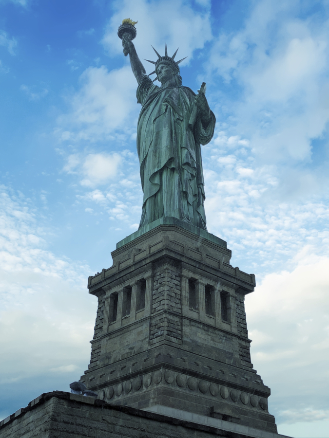 Liberty Lady from the Grounds